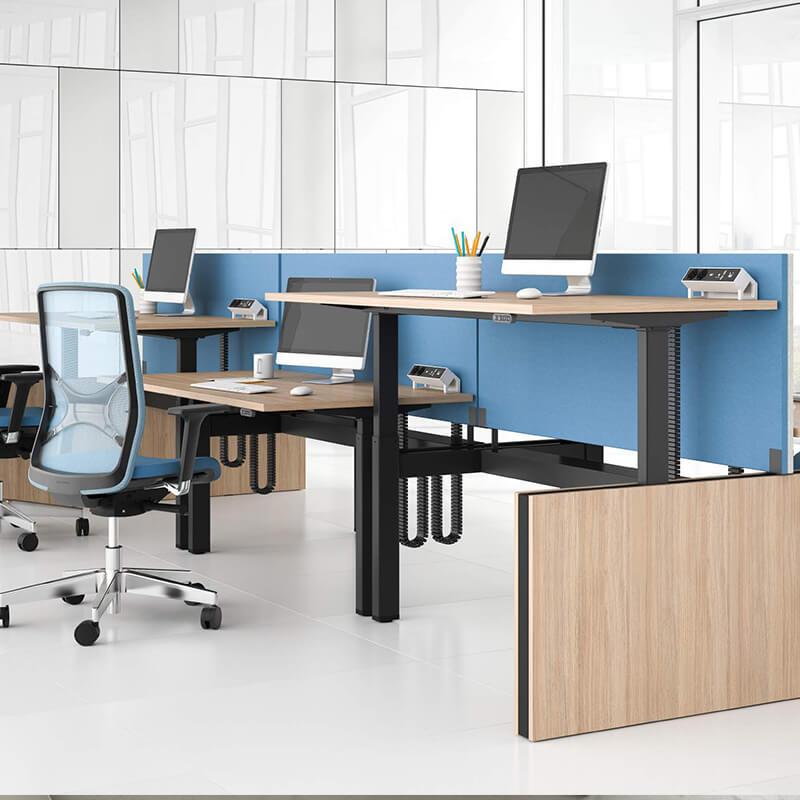 B rotisch weber b ro 2 for Schreibtisch 2 meter