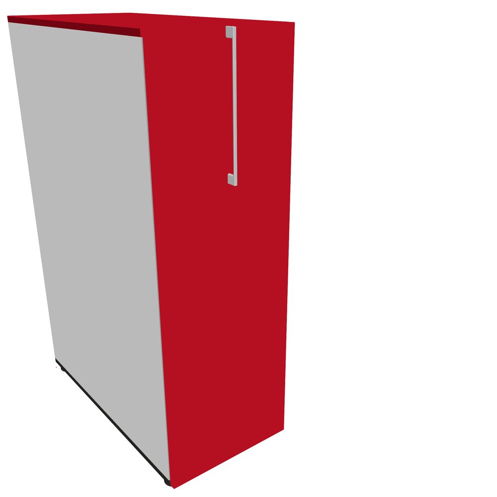 nova apothekerschrank in ahorn 80 x 40 cm caddy hochcontainer container ebay. Black Bedroom Furniture Sets. Home Design Ideas